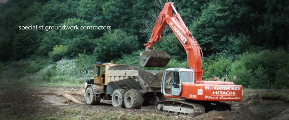 H Godfrey Plant Contractors - Specialist Groundwork Contractor